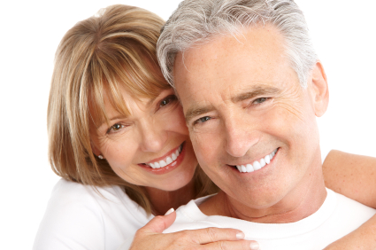Silverdale, WA couple with healthy gums free of gum disease.