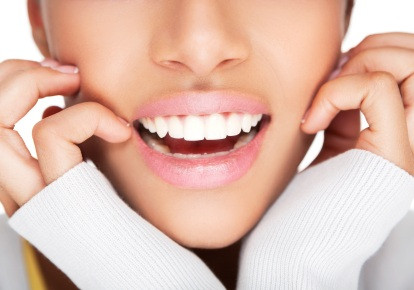 A smile makeover can give you the perfect smile in one day.